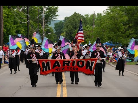 Marion High School Black Knights Marching Band At 2018 Sherburne Pageant Of Bands