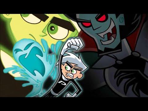 Дэнни-призрак 1,2,3 сезон - смотреть онлайн мультфильм