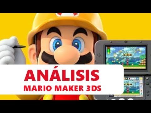 Super Mario Maker for Nintendo 3DS | Juega, Crea y ¿Comparte? | ANÁLISIS & CRÍTICA 3DS