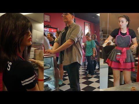 Naughty Girl's Donuts 'Cash Mob'