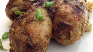 Bhuna Masala Chicken Recipe ( Indian style Chicken Drumsticks recipe)