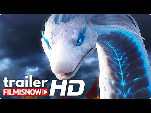 WHITE SNAKE Dubbed Trailer (2019) Light Chaser Animation Film