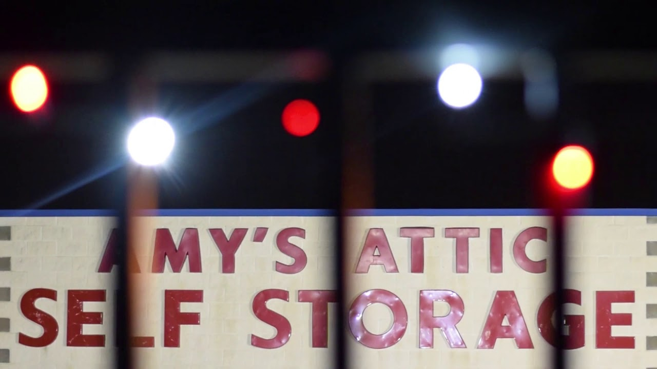 Amy's Attic Self Storage  Christmas Light Collection   YouTube