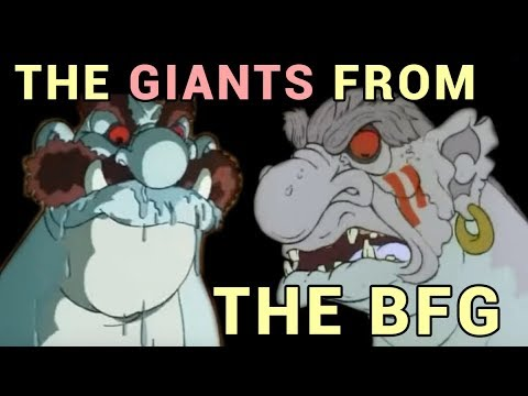The Giants from The BFG