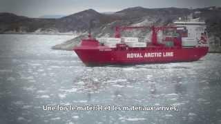 Colas Danmark : chantier d'enrobés au Groenland