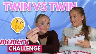Twin VS Twin: Memory Challenge!   The Rybka Twins