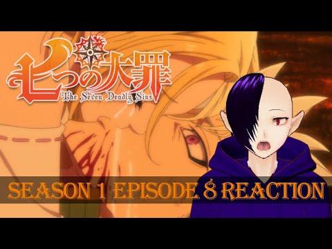 "Download The Seven Deadly Sins REACTION - Season 1 Episode 8 ""The Fearsome Pursuer"""