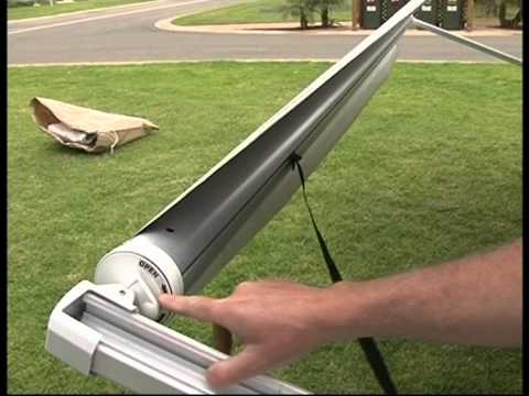 Jayco Expanda Awning Parts Setting Up A Roll Out Awning