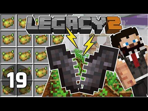 Breaking Netherite & Poisonous Potato Farm - Legacy SMP 2: #19 | Minecraft 1.16 Survival Multiplayer