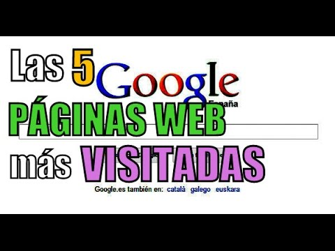 Las 5 PÁGINAS WEB más VISITADAS del mundo