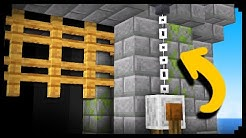 ✔ How to Make a Castle Gate in Minecraft
