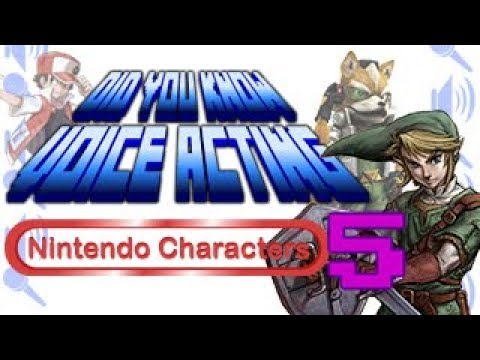 Nintendo Characters PART 5 - Did You Know Voice Acting?