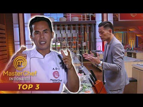 MASTERCHEF INDONESIA - Untuk Pertama Kalinya Lord Adi Merasakan Nervous   TOP 3