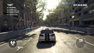 GRID 2 PC Barcelona Racing (1080p + 60fps)