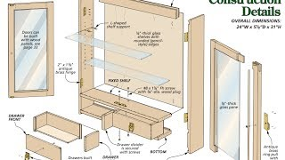 Cabinet Plans - How To Build A Cabinet With Plans,blueprints,diagrams,instructions And More