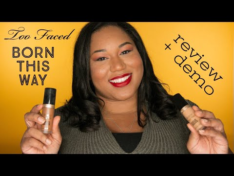 Too Faced Born This Way Concealer Review + Demo   Indy Hip Chic   Kristin Shelby thumbnail