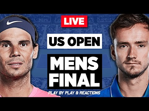 🔴 NADAL Vs MEDVEDEV | US Open 2019 | LIVE Tennis Stream Play-by-Play | Full Match