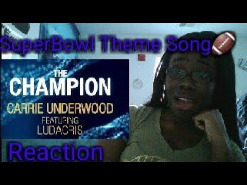 Carrie Underwood Feat Ludacris~ Champion Audio REACTION
