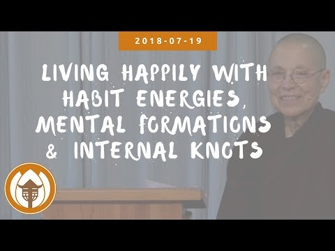 Living Happily with Habit Energies, Mental Formations and Internal Knots | Sr Từ Nghiêm, 2018 07 19