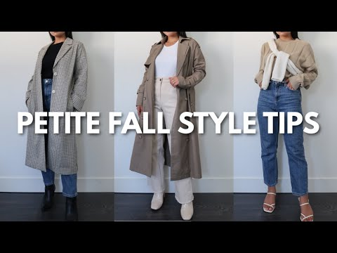 PETITE FALL STYLE TIPS   Haley Estrada