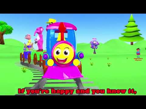Five Little Animals Went To A Zoo   If You Are Happy and You Know It   Nursery Rhymes & Kids Songs