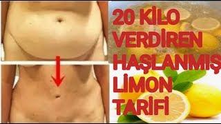 20 KİLO VERDİREN HAŞLANMIŞ LİMON TARİFİ   Haşlanmış Limon İle Zayıflama