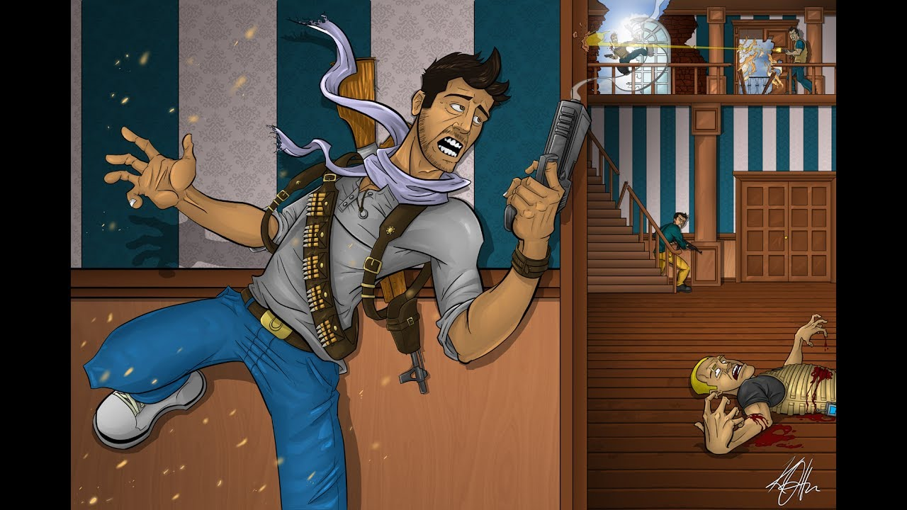 Nice Uncharted 3 Wall Mural · Lovely Uncharted 3 Wall Mural Part 23