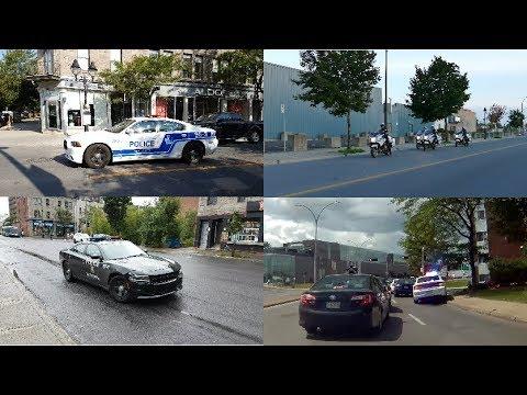 SPVM MONTREAL POLICE IN ACTION - SERVICE DE POLICE DE LA VILLE DE MONTRÉAL EN ACTION - AUGUST / 25X