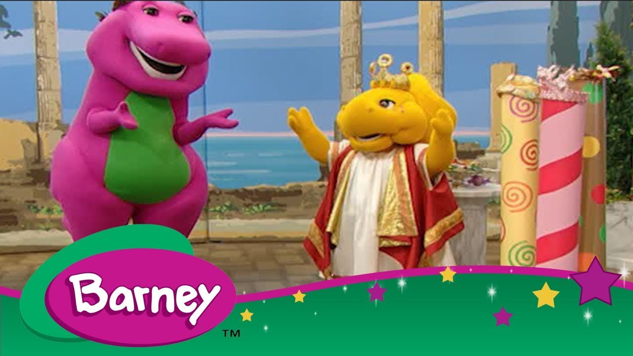 Barney 👑 The Tale of King Midas 🤴