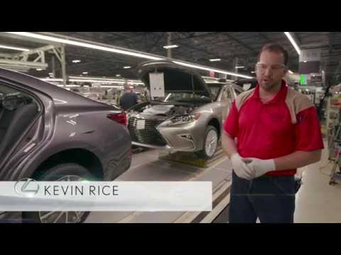 First Lexus vehicles built in Georgetown, KY