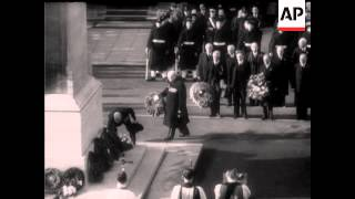 THE CENOTAPH CEREMONY, 1949