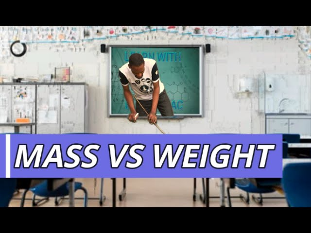 5 Ways Mass And Weight Differ