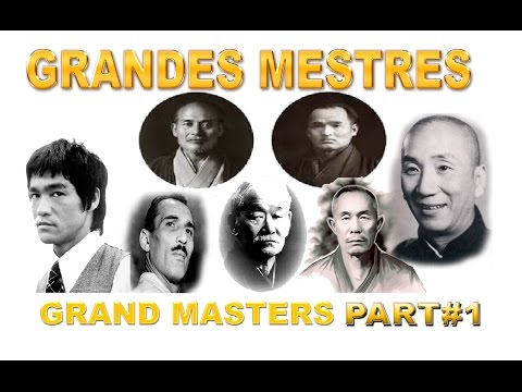 👊Tribute to Great Masters of Martial Arts Part # 1/2