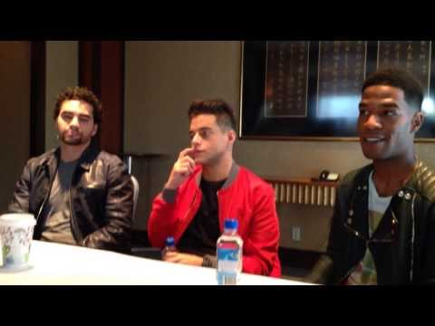 Need for Speed  Kid Cudi, Ramon Rodriguez, and Rami Malek