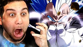 ASCENDED BLUE VEGETA RETURNS!! | Kaggy Reacts to Super Dragon Ball Heroes Episode 11