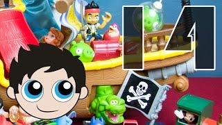 Episode 14: Jake and the Neverland Pirates Edition - Batgirl,Sofia,Bad Piggy,Dinosaur,Mickey