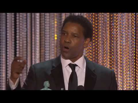 Denzel Washington 2017 SAG Award Speech