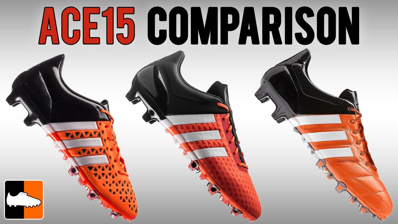 low priced cb5e1 6a1e6 Which ACE15 is for you Primeknit vs. Leather vs. 15.1 adidas ACE Boots  Compared - YouTube