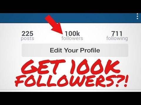How To Get Unlimited (Real) Followers On Instagram : From 0 to 10K