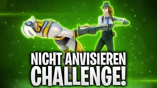 NICHT ANVISIEREN CHALLENGE! ❤️ | Fortnite: Battle Royale