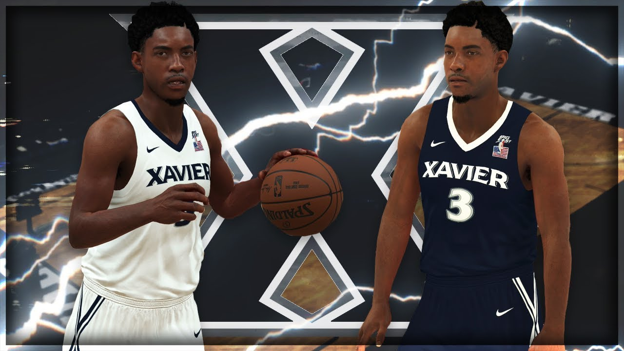 new products 84396 2c38d NBA 2K18 2017-18 Xavier Musketeers Jersey & Court Tutorial