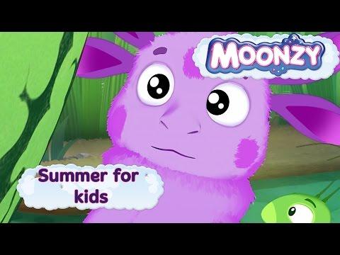 MOONZY (Luntik) - Summer for kids - five episodes compilation [HD]