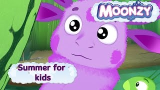MOONZY (Luntik) - Summer for kids - five episodes compilation [HD]