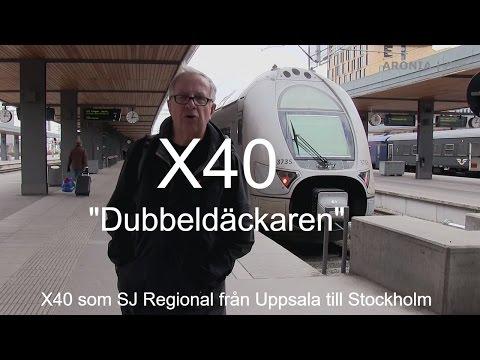 2017-04-13 Vi reser med X40 från Uppsala till Stockholm