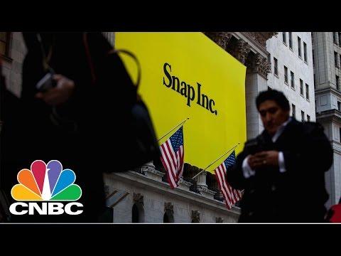 Snap Up Nearly 4% On Bullish Street Coverage   CNBC