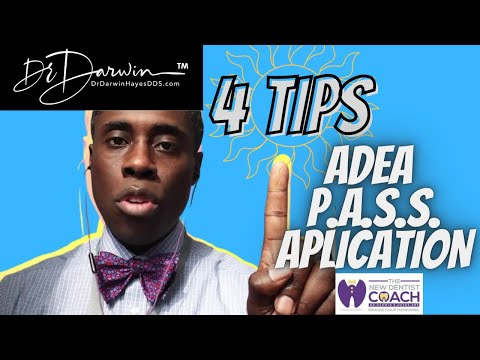 4 Tips on P.A.S.S Dental Residency Application Process | TheNewDentistCoach | Dr Darwin Hayes DDS