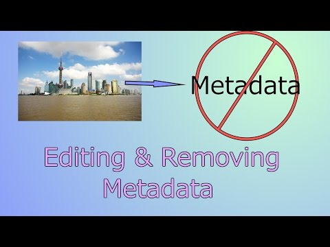Hacking With Python #14 - Editing or Removing Meta Data