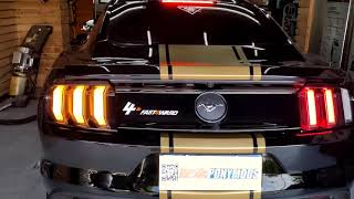 EPM 2018 EURO AUS UK Mustang Triple Amber Triple Red (3A3R) Sequential Taillight