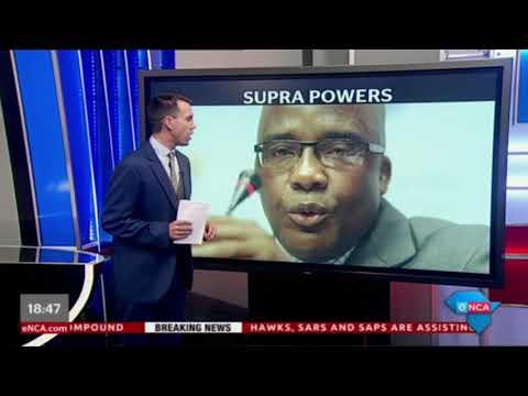 eNCA's Michael Marillier explores the controversies surrounding Supra Mahumapelo