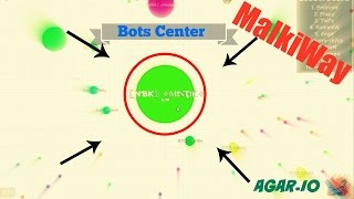 AGARIO // HOW TO GET FREE MASS BY DOING NOTHING